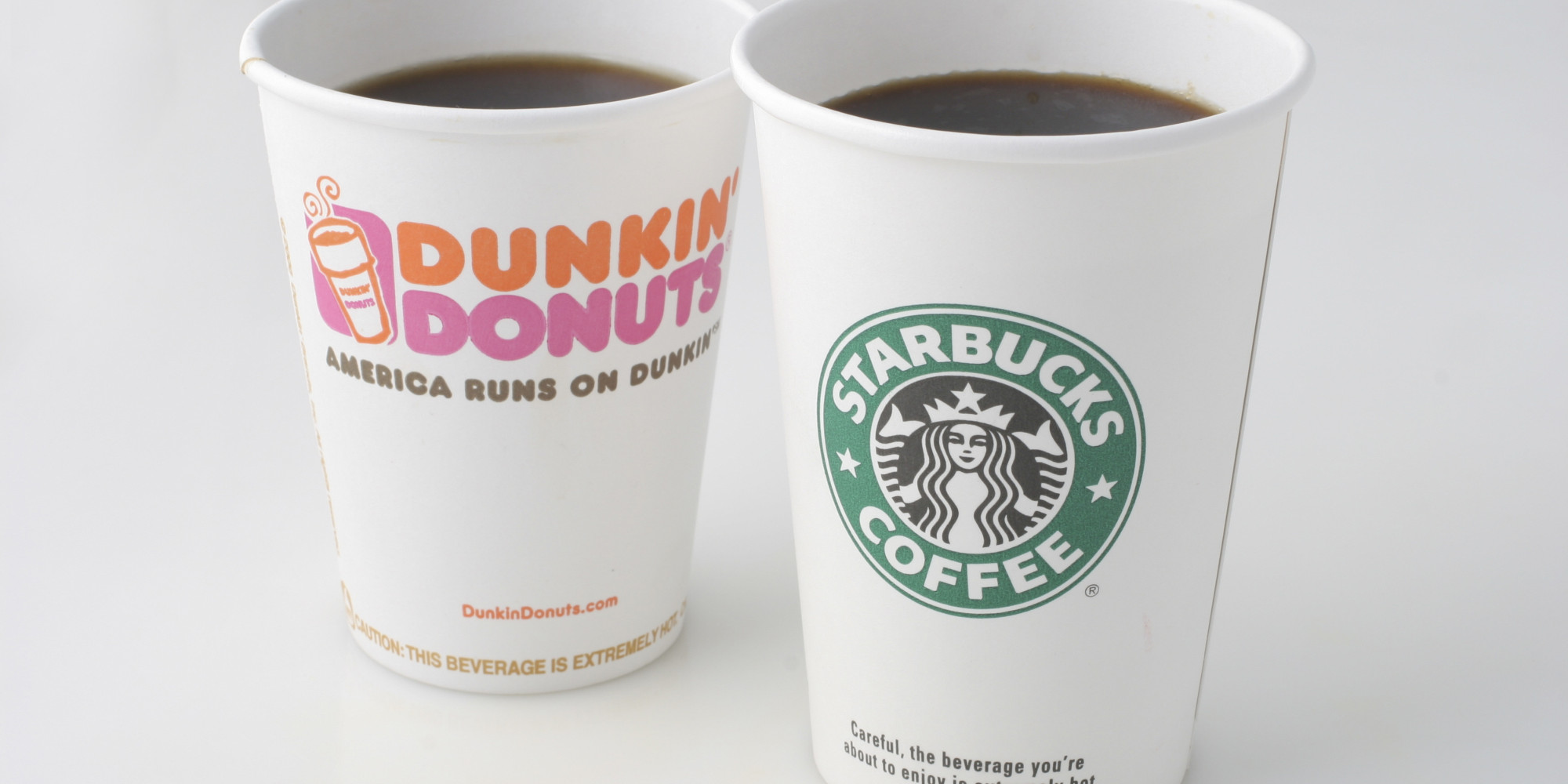 Dunkin' Donuts & Starbucks Seasonal Treats