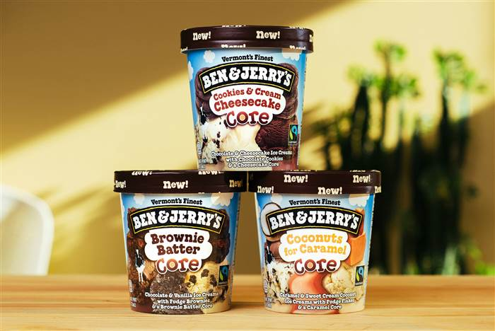 Ben and Jerry`s ice cream just got even more sweet!