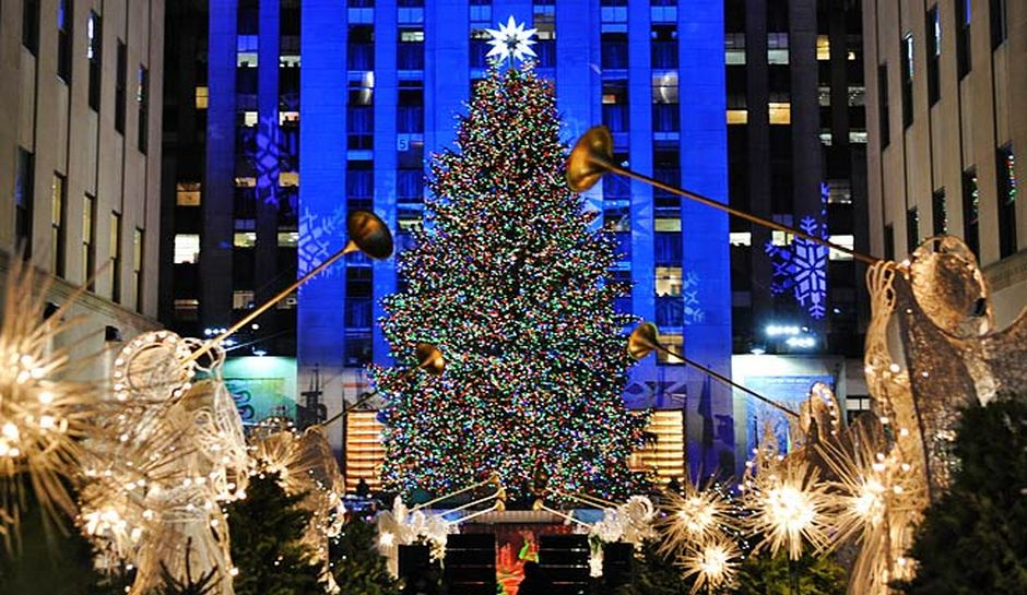 Rockefeller Christmas Tree Lighting 2016