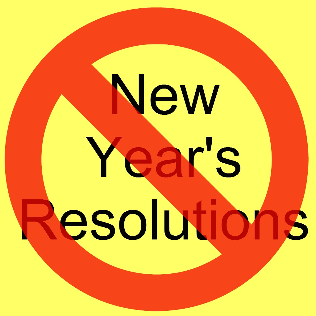 Not a fan of the New Year Resolution? Try a New Year Intention